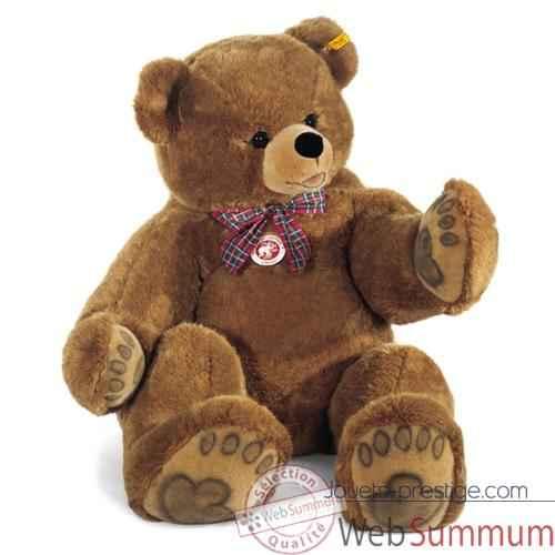 peluche steiff ours teddy studio brun 500572 de peluche steiff sur jouets prestige. Black Bedroom Furniture Sets. Home Design Ideas
