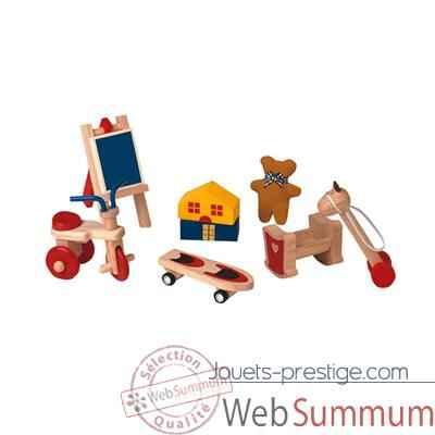 Accessoires de chambre enfants en bois plan toys 9711 de jouets en bois plan toys - Accessoire de chambre ...
