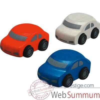 Video Automobiles familiales en bois - Plan Toys 6071