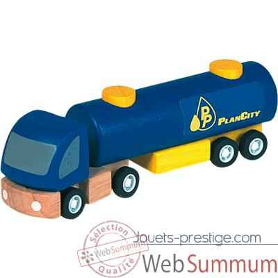 Video Camion citerne en bois - Plan Toys 6004