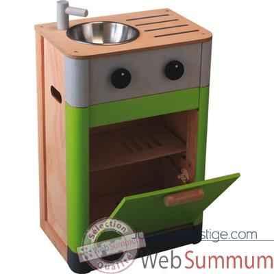 evier lave vaisselle en bois plan toys 3441 de jouets en bois plan toys. Black Bedroom Furniture Sets. Home Design Ideas