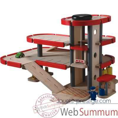 Parking garage en bois - Plan Toys 6227