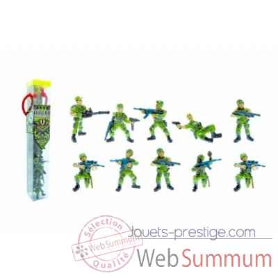 Collection les tubos tubo le commando operation jungle Figurine Plastoy 70374