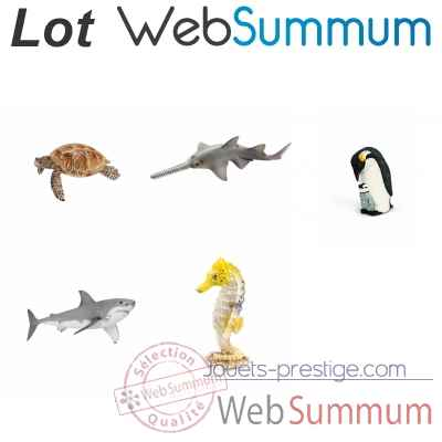 Promotion animal marin en figurine Schleich -LWS-113