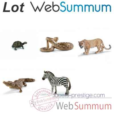 Promotion Figurine animal de la savane Schleich -LWS-101