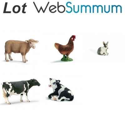promotion figurine animaux de la ferme schleich de figurine schleich. Black Bedroom Furniture Sets. Home Design Ideas