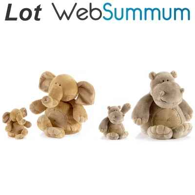 Promotion Peluche animadoo savane Anima -LWS-26