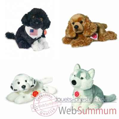 Promotion Peluche divers chien Hermann -LWS-36
