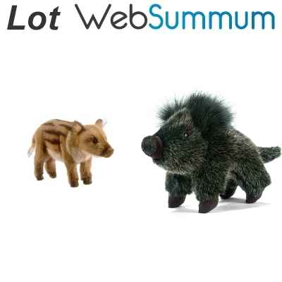 Promotion Peluche sanglier Anima -LWS-31