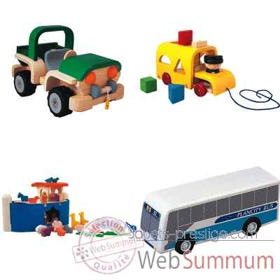 Promotion transport en bois Plan Toys -LWS-148