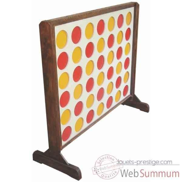 puissance 4 en bois jp4 de carrom art dans jeux g ant en. Black Bedroom Furniture Sets. Home Design Ideas