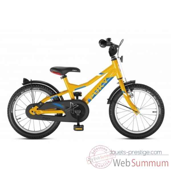 Bicyclette alu cyke 16\'\' 1 vit orange zlx 16-1 Puky -4271