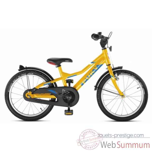 Bicyclette alu cyke 18\'\' 1 vit orange zlx 18-1 Puky -4371