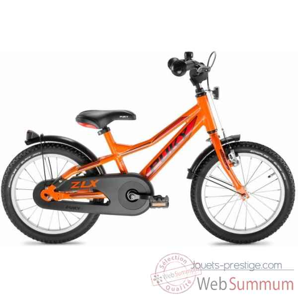 Bicyclette cyke zlx 16-1 alu racing orange puky -4272