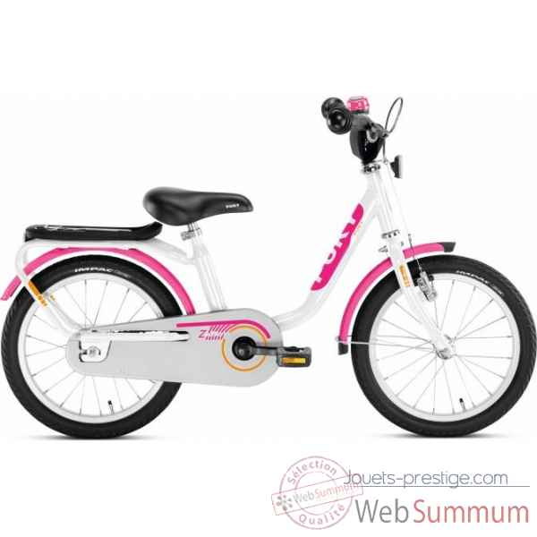 Bicyclette z 6 edition blanc et rose puky -4201