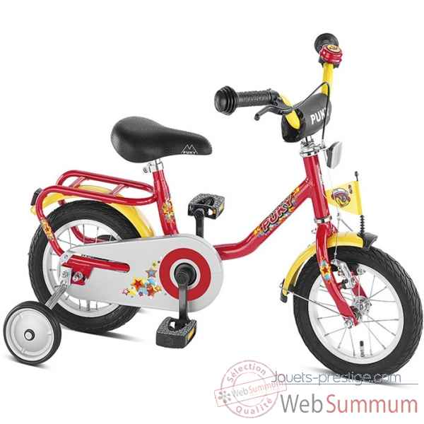 Bicyclette z2 rouge puky 4103