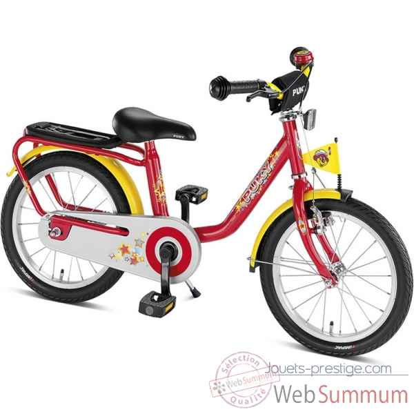 Bicyclette z6 rouge puky 4213
