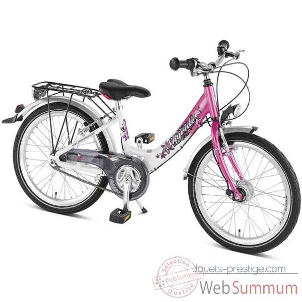 Bicyclette skyride 20-3 blanc-rose puky 4455