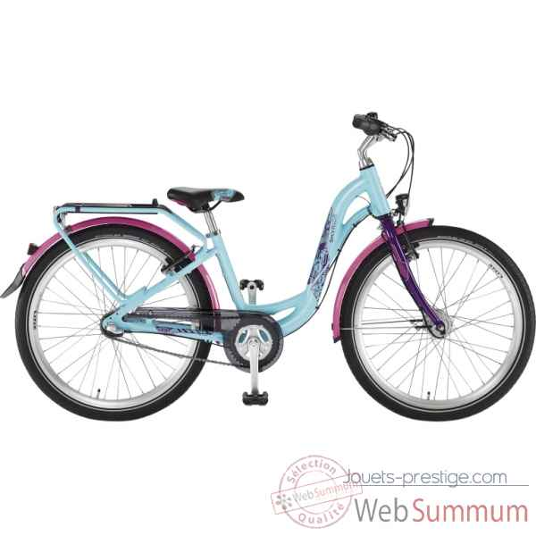 Bicyclette turquoi-lilas skyride 24-3 light Puky -4811