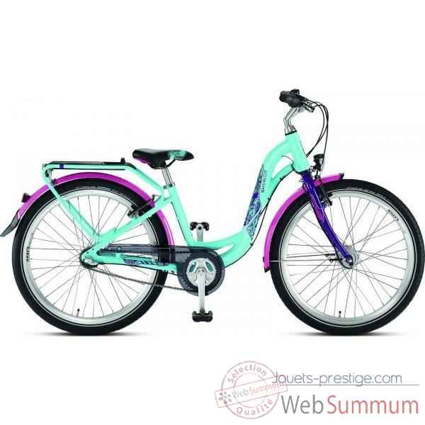 Bicyclette turquoi-lilas skyride 24-7 light Puky -4851