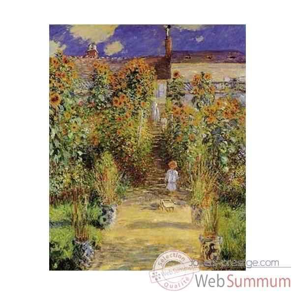 Puzzle le jardin de l 39 artiste puzzle mich le wilson c804 for Jardin wilson