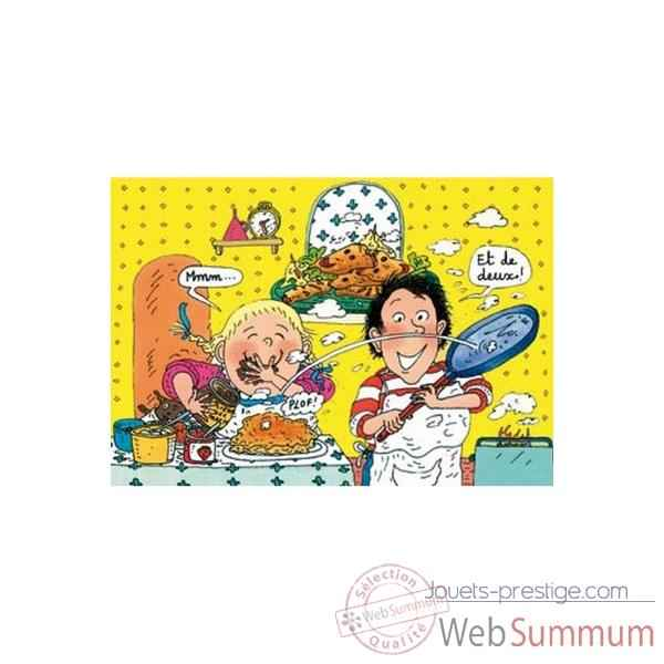 Puzzle Les crepes tom tom & nana Puzzle Michele Wilson W116-50