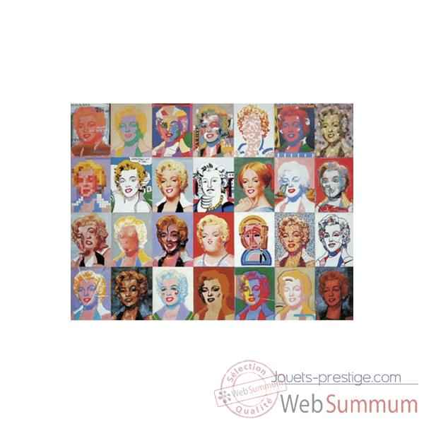 Puzzle Marylin monroe Puzzle Michele Wilson A728-1800