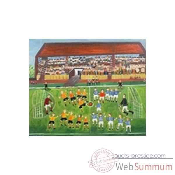 Puzzle Le match de football Puzzle Michele Wilson W124-50