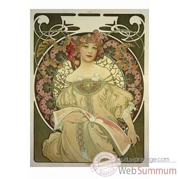 Puzzle Reverie mucha Puzzle Michele Wilson A135-500