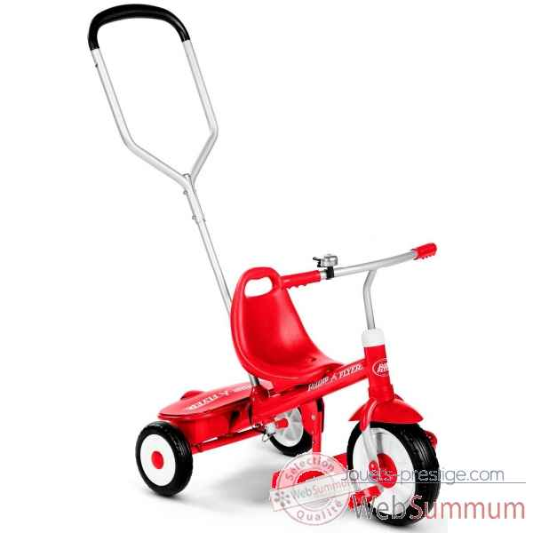Tricycle avec canne Radio Flyer -451