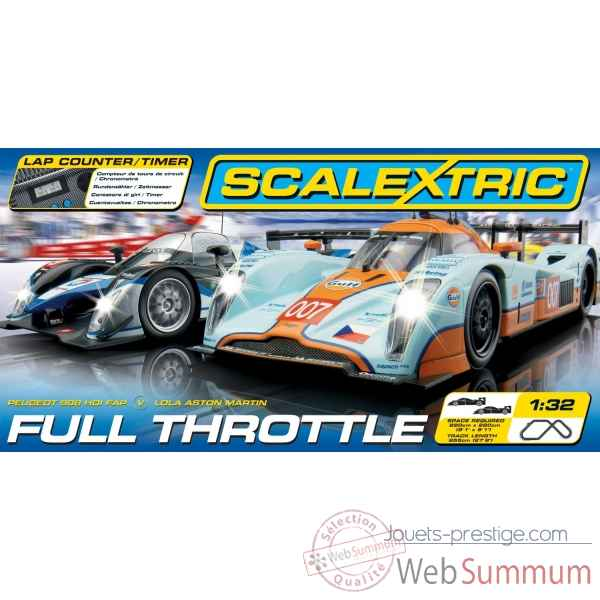Coffret full throttle * Scalextric SCA1279