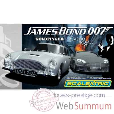 Scalextric coffret james bond -sca1254
