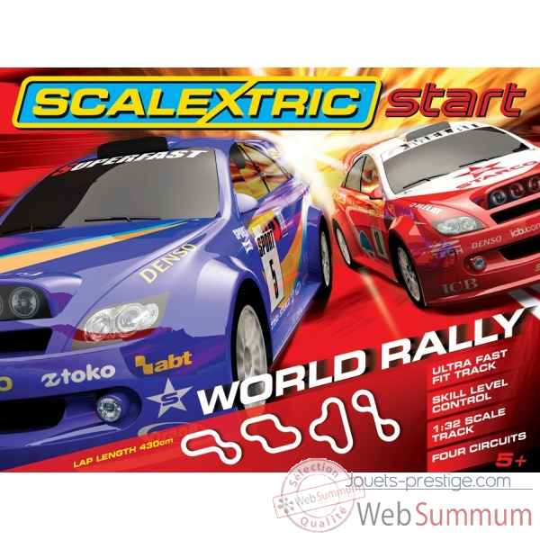 Scalextric coffret world rallye -sca1249