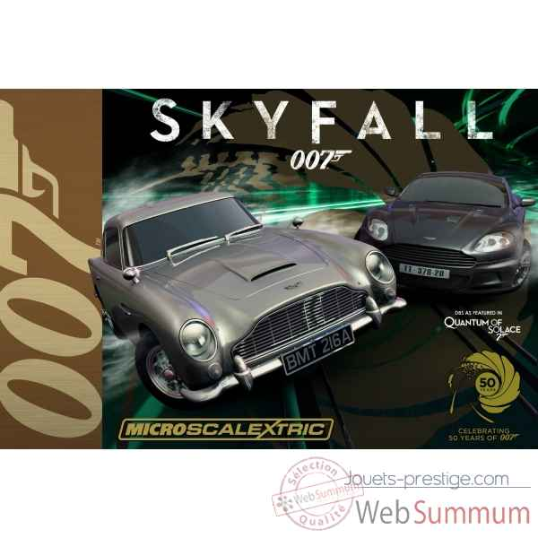 James bond 007 skyfall Scalextric -SCAG1083P