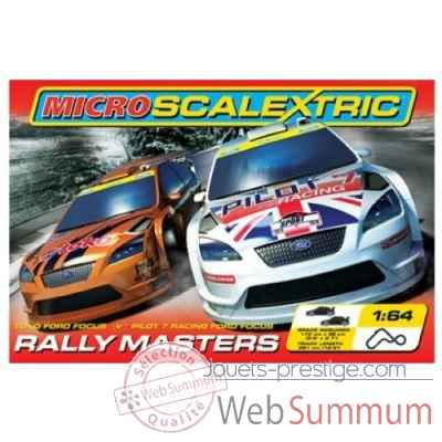 Micro circuit rally masters* Scalextric SCAG1071P