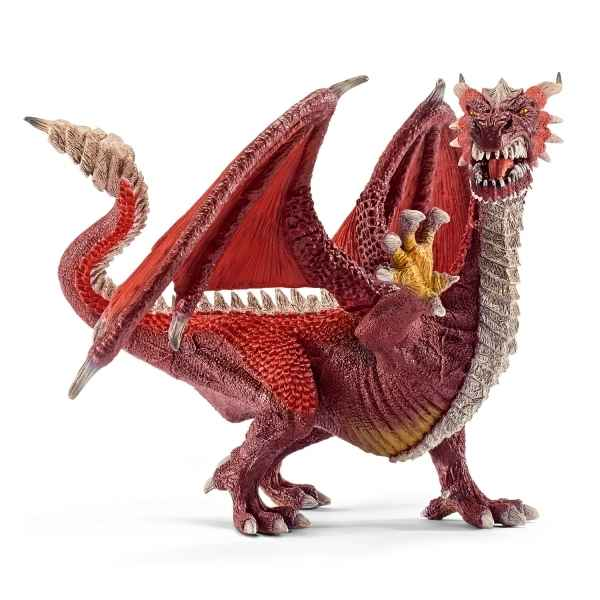 Dragon guerrier schleich -70512