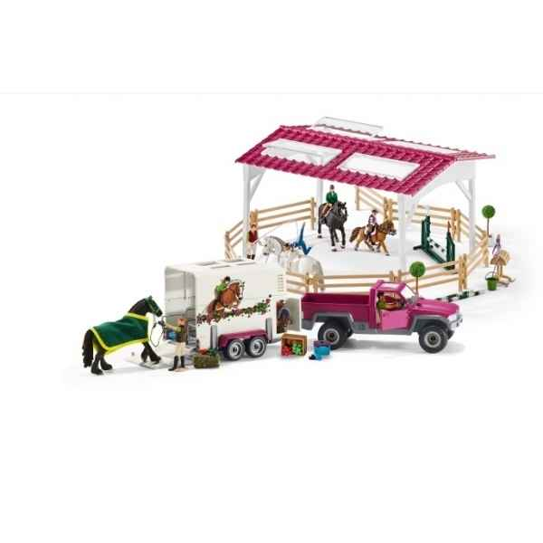 maison de ferme dans figurine schleich sur jouets prestige. Black Bedroom Furniture Sets. Home Design Ideas