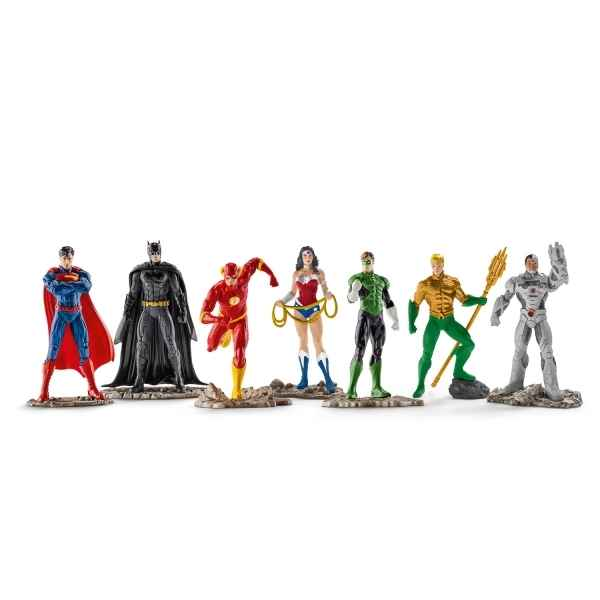 Grand set the justice league schleich -22528