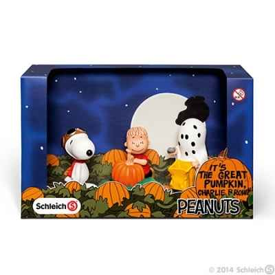 It\'s the great pumpkin charlie brown schleich -22015