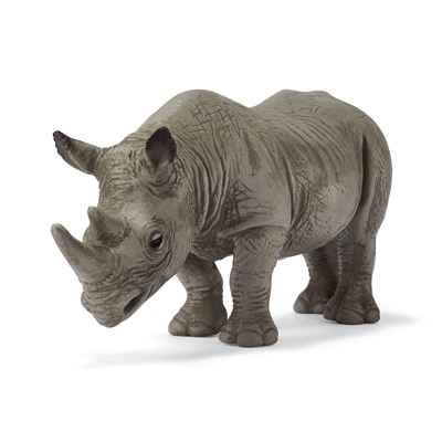 Video schleich-14193-Figurine Rhinoceros noir