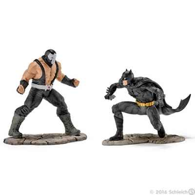 Scenery pack batman vs bane figurine schleich -22540