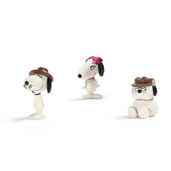 Scenery pack snoopy\'s siblings schleich -22058