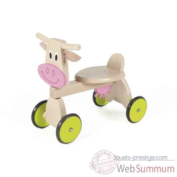 Porteur chien en bois Scratch 6181403 dans Jouet Porteur