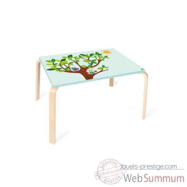 Table hibou Lou en bois Scratch -6182323
