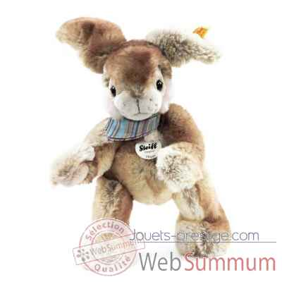 Hoppi dangling rabbit, beige brown STEIFF -280344