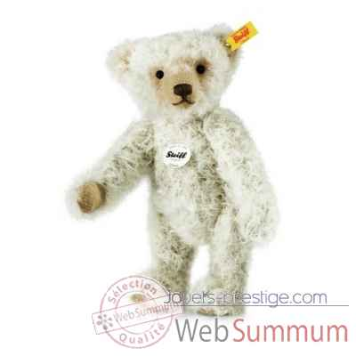 Ours teddy classique oliver, gris STEIFF -000324