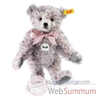 Ours teddy classique sofie, rose chine STEIFF -000416
