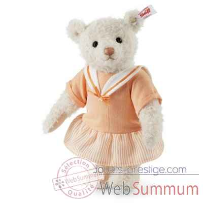 Ours teddy edith, abricot clair STEIFF -034145