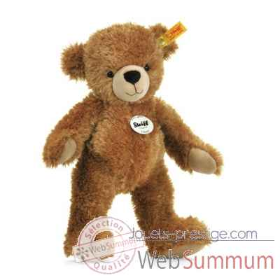 Ours teddy happy, brun clair STEIFF -12617