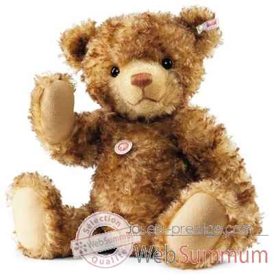 Ours teddy little tom, brun chine STEIFF -021046